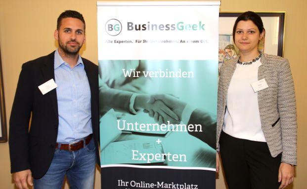 Leandro Diels und Daniela Klassen, Geschäftsführer von BusinessGeek