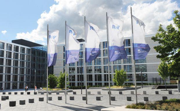 Konzernzentrale der R+V in Wiesbaden. Foto: R+V