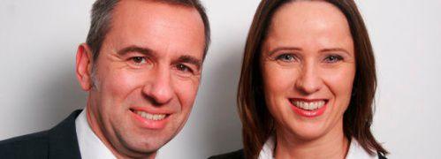 Stefan Raake und Claudia Hilker