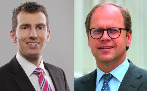 Suchen unterbewertete Unternehmen, aber nicht nach exakt denselben Kriterien: Gané-Vorstand Uwe Rathausky (links) und Stefan Rehder, Manager des Value Intelligence Fonds AMI