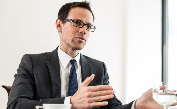 Robert Reichle, Portfoliomanager im Team Fixed Income Selection bei Berenberg (Foto: Johannes Arlt)