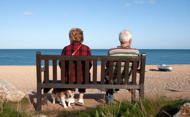 Ein Drittel der Deutschen hat Angst <br>vor Altersarmut; Quelle Fotolia