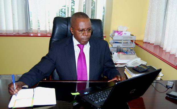 Robert Mathu, Chef der B&ouml;rse in Kigali, Ruanda<br>(Foto: CMAC)