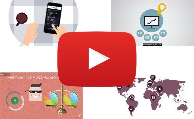 Robo-Advisors auf YouTube: 7 Online-Vermögensverwalter im Video-Porträt