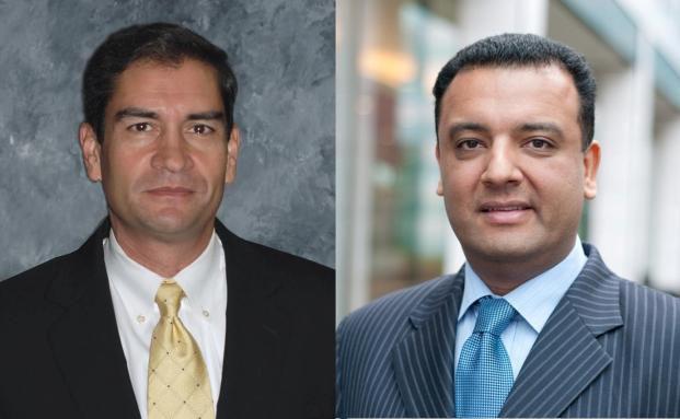 Victor Rodriguez (r.) und Nish Popat (l.)