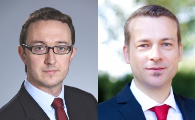 Matthew Siddle, Manager des Fidelity European Growth Fund (links) und Carsten Roemheld, Kapitalmarktstratege bei Fidelity