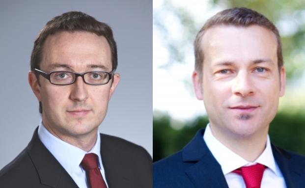 Matthew Siddle, Manager des Fidelity European Growth Fund (links) und Carsten Roemheld, Kapitalmarktstratege bei Fidelity