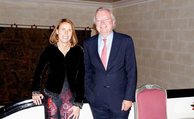 Claudia Otremba, Geschäftsführerin Rogge Global Partners<br>in Frankfurt, und Firmengründer und Vorstand Olaf Rogge<br>(Foto: DAS INVESTMENT.com)