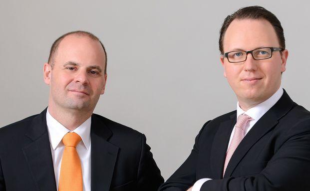 Thomas Romig (l.) und Thomas Handte bauen bei Assénagon den Multi-Asset-Bereich auf.