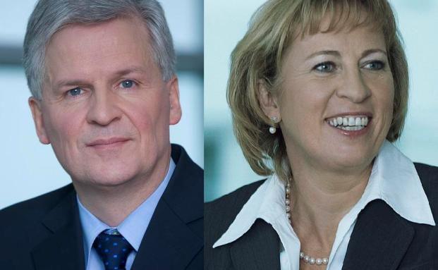 Ulrich Rosenbaum und Barbara Riebeling, Talanx