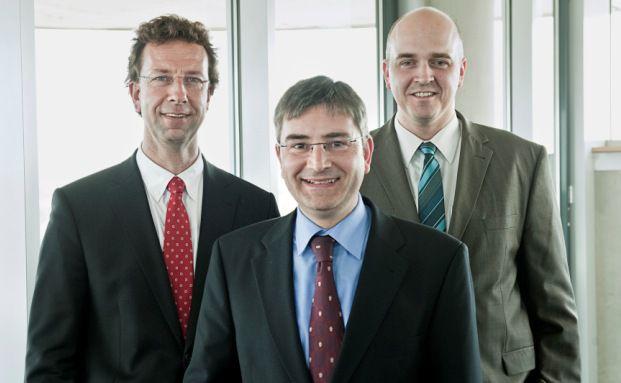 Von links: Ralf Weißenfels, Matthias Dedio und Oliver Kieper