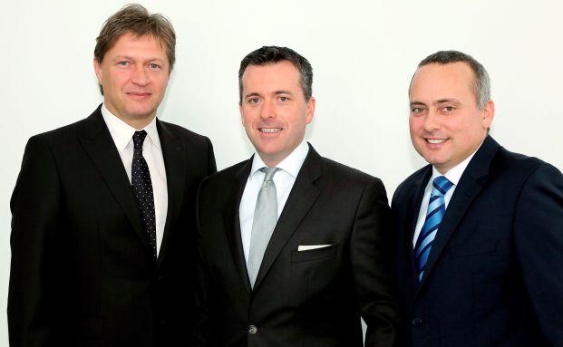 Der SDV-Vorstand (v.l.n.r.): Gerhard Lippert, Armin Christofori und Thomas Müller