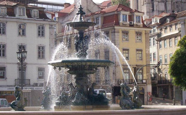 Noch sprudelt das Geld für Portugal. Foto: Sabine Groth
