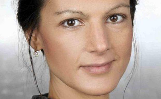 Spricht auf der DKM 2014: Sahra Wagenknecht (Pressefoto)