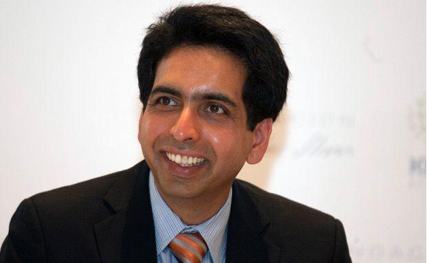 Salman Khan, ehemaliger Hedgefonds-Manager ist jetzt Online-Lehrer (Foto: Bloomberg)
