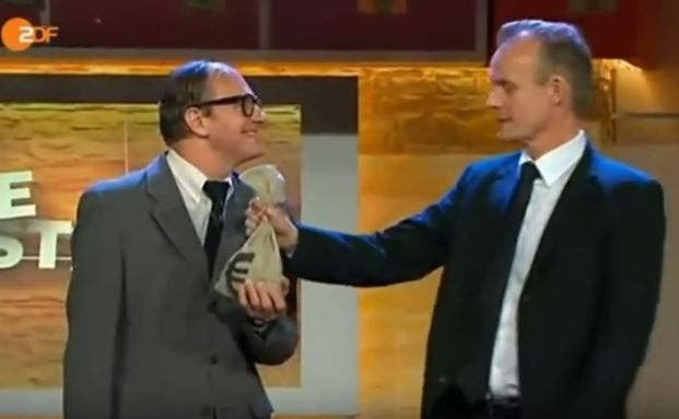 Her mit dem Geld: Satiriker Chin Meyer (links) und Max Uthoff