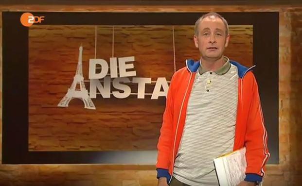"""Wirbt für religiöse Toleranz: Emmanuel Peterfalvi in """"Die Anstalt"""""""