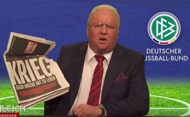 Nicht mit ihm: Helmut Schleich als Franz Beckenbauer