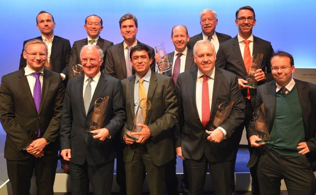 Die Gewinner der Sauren Golden Awards 2014. (Foto: Sauren Fonds-Research)