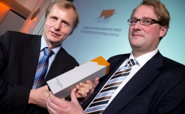 Thomas Schmitt und Jens Hagen vom
