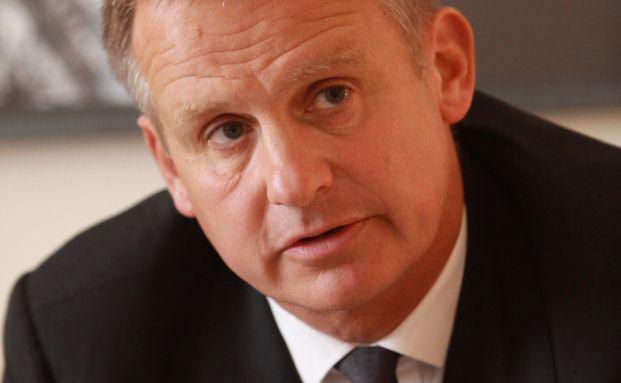 Uwe Schmitz, Vorstandsvorsitzender der Frankonia Eurobau
