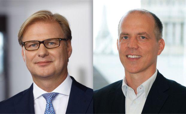 Achim Küssner, Geschäftsführer Schroder Investment Management GmbH, und Patrick Vogel, Head of European Credit