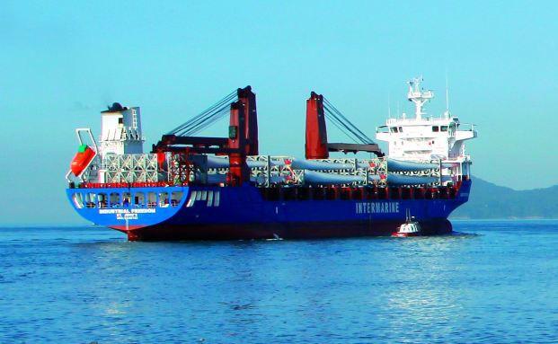 Baugleiches Schwesterschiff der MS Senda J