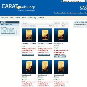 Der Online-Gold-Laden<br>von BCA