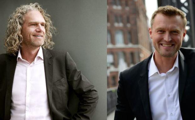 Michael M. Sennert (li.) und Rainer Demski starten in Hamburg mit social markets durch