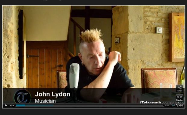 John Lydon (Quelle: The Telegraph)