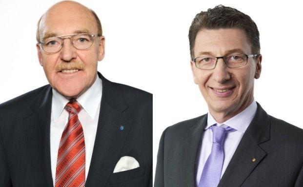 Reinhold Schulte (links) und Ulrich Leitermann