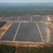 Solarpark in Lieberose (Brandenburg)