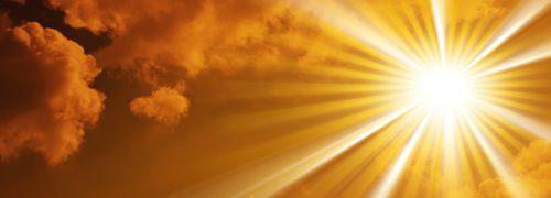 H&auml;tten Sie's gewusst? St&uuml;ndlich erreicht mehr<br/>Sonnenenergie die Erde, als von der gesamten<br/>Menschheit pro Jahr verbraucht wird<br/>Foto: Fotolia