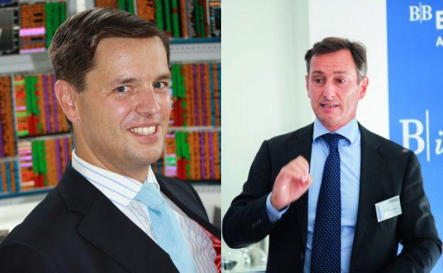 Mit ihren Mischfonds erstmals in der Liste der Top-Seller vertreten: Markus Wedel (links) und Lucio Soso