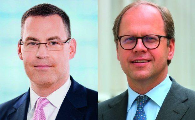 Nur die Guten ins Töpfchen: Fondsmanager Harald Sporleder (Allianz Global Investors, links) und Stefan Rehder (Value Intelligence Advisors)