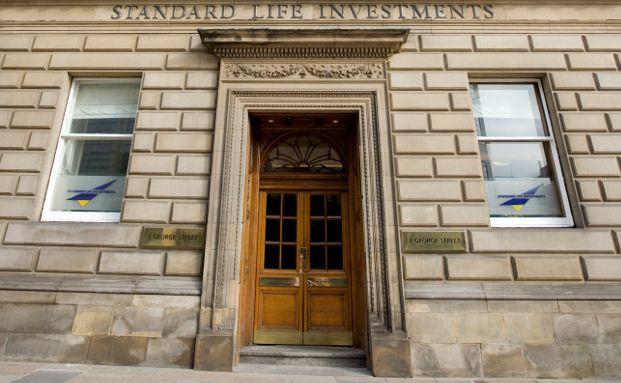 Unternehmenszentrale der Standard Life Investments in Schottland.