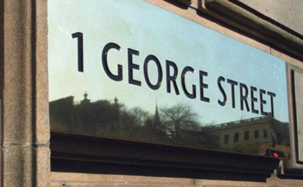 1. George Street: Hauptsitz von Standard Life Investments in Edinburgh