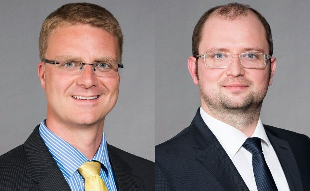 Steffen Merker und Christoph Groß managen den Mischfonds LBBW Multi Global.