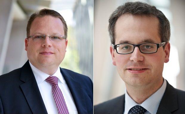 Martin Stenger (links) und Magnus Schmagold. Foto: Fidelity