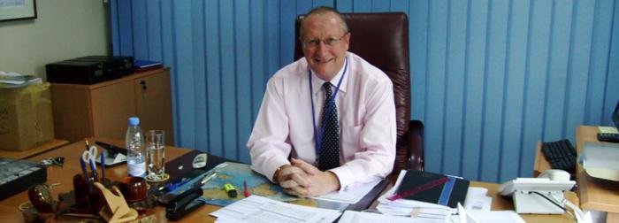 Steve Caley ist Gesch&auml;ftsf&uuml;hrer der Fina Bank<br>in Ruanda