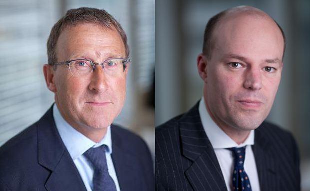 Tim Stevenson (links) und Bill Stormont, Manager des Henderson Horizon Pan European Equity