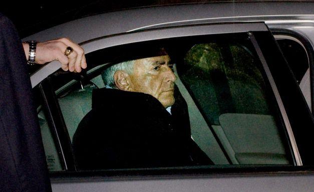 Der Franzose Dominique Strauss-Kahn bei seiner Festnahme <br> Quelle: Getty Images