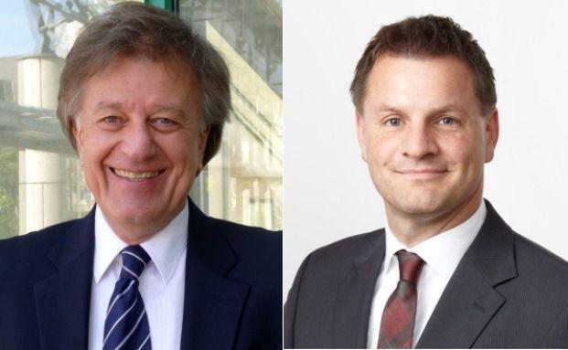 Unternehmensberater Hans Peter Wolter (links) und Kapitalmarktrechtsanwalt Jochen Strohmeyer. Fotos: Wolter / Strohmeyer