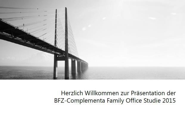 Die neue Studie vom Bayerischen Finanz Zentrum zu Family Offices ist erschienen.