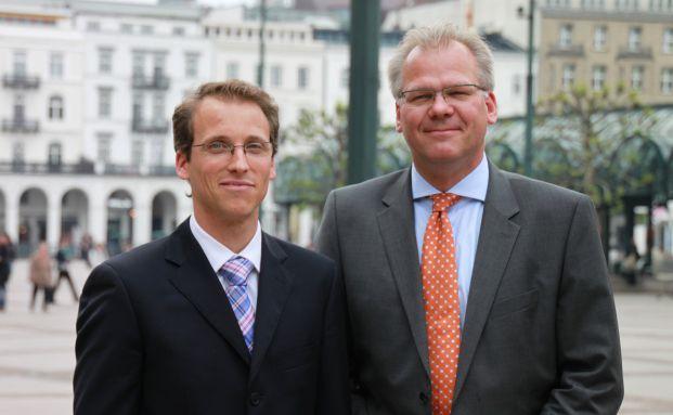 Links:Sven Pfeil Rechts:Thomas Pergande
