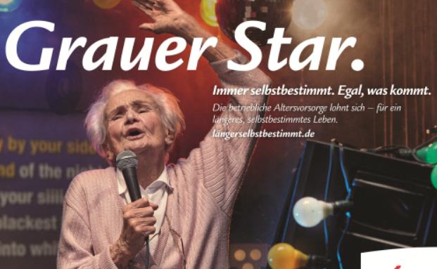 Swiss Life thematisiert jetzt in einer Werbekampagne Selbstbestimmung um Alter - auch in finanzieller Hinsicht, Foto: Kampagnenbild, Swiss Life