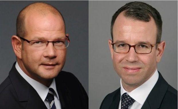 Klaus Westram (links) und Niels Schnittger. Foto: Swiss Life Select