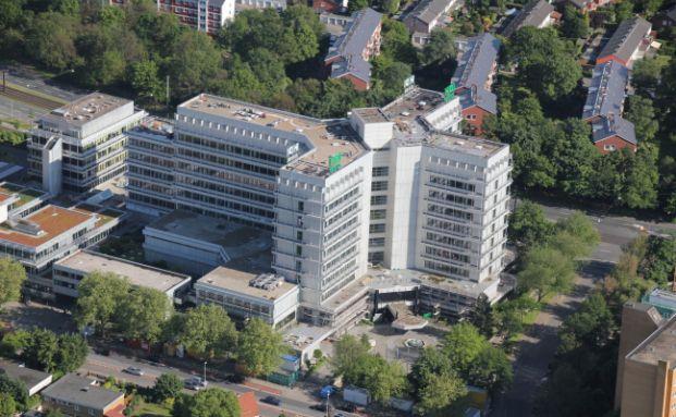 Luftaufnahme der Talanx Konzernzentrale (Foto: Talanx)
