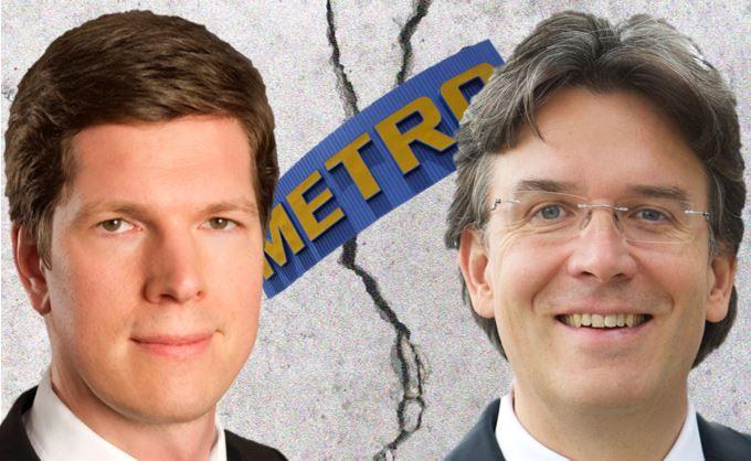 Ist die Metro-Aktie Top-Seller oder Ladenhüter? Oliver Maslowski (l.) und Frank Fischer sind in dieser Frage unterschiedlicher Meinung.