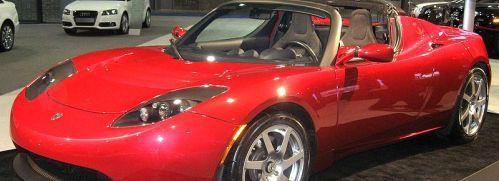 Der Tesla-Roadster; Quelle: Wikipedia